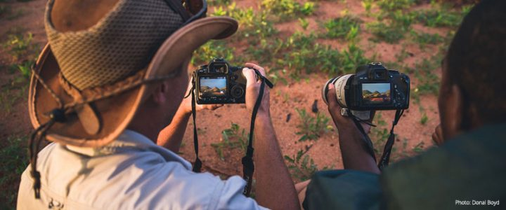 International Wildlife Photographers Visit Erindi