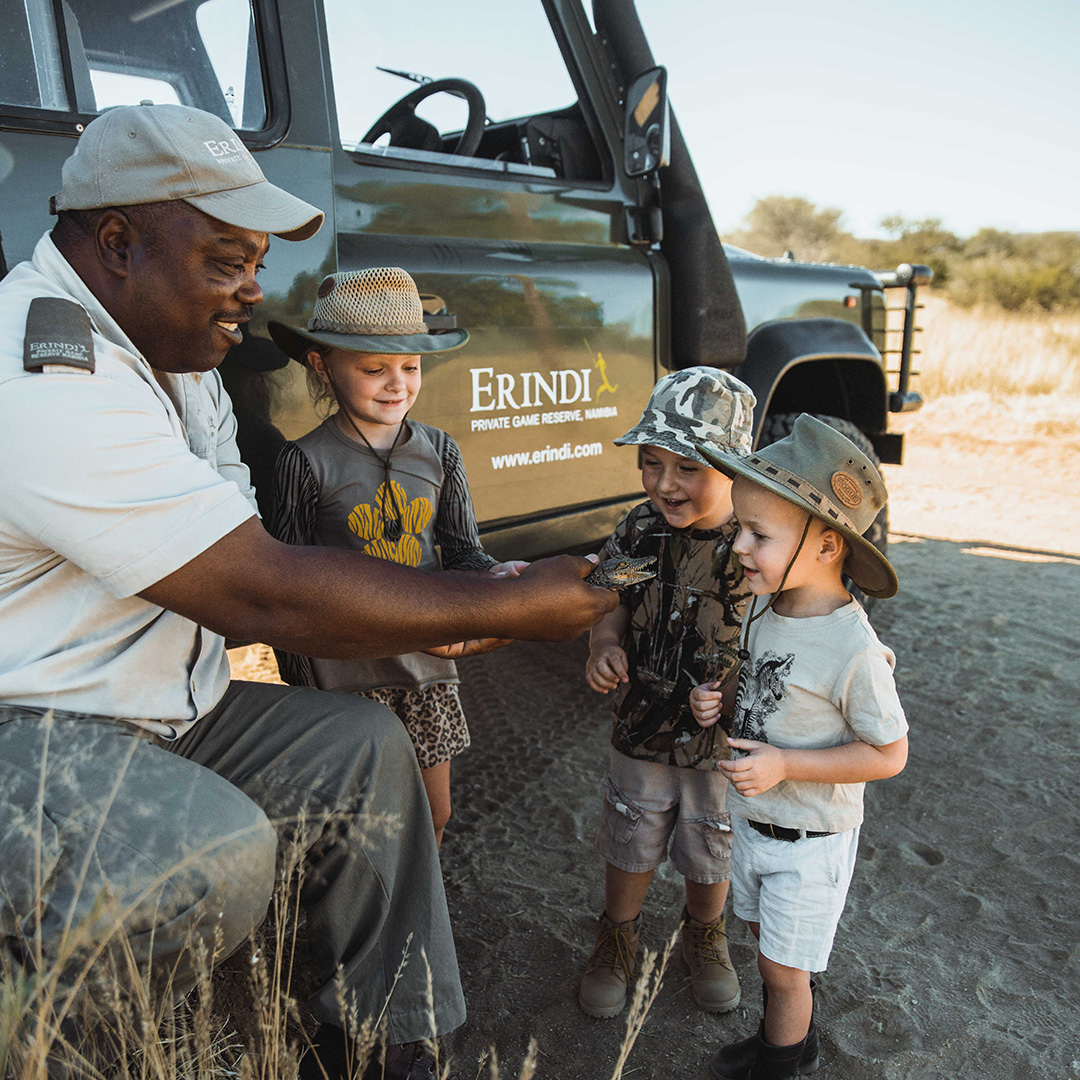 Children on Safari Namibia Activities