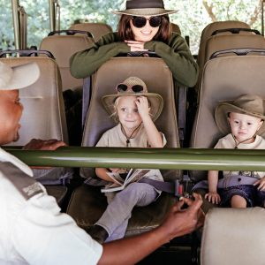 Under 6's Game Drive