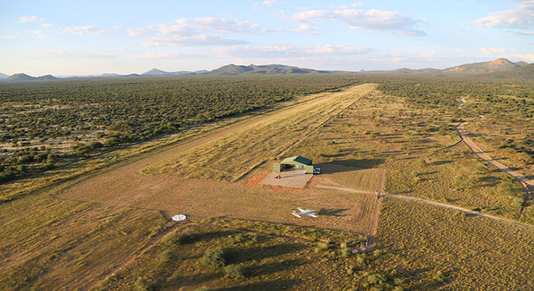 The Airstrip at Erindi