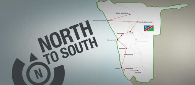 From North to South - Traveling Across Namibia