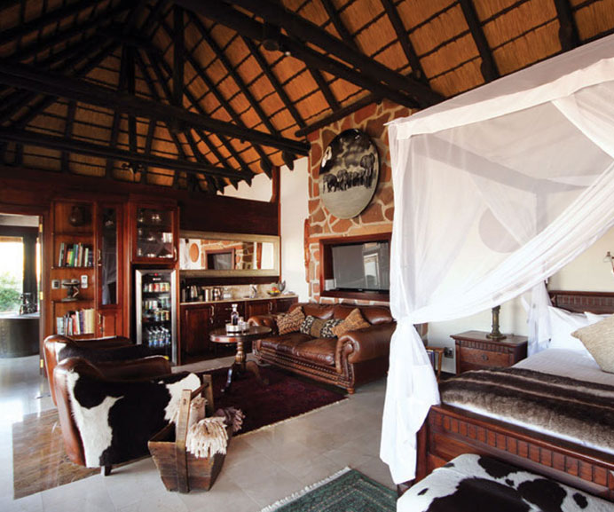 Livingstone Suite at Old Traders Lodge, Erindi