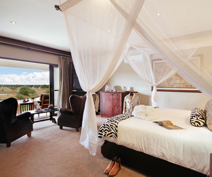 Superior Suite at Old Traders Lodge, Erindi