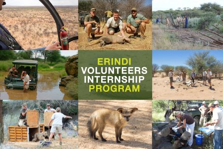 Namibian Wildlife Volunteer Program 2017